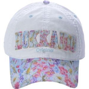 FLOWER LOGO CAP HOKKAIDO CHO003-B robin-ruth-japan