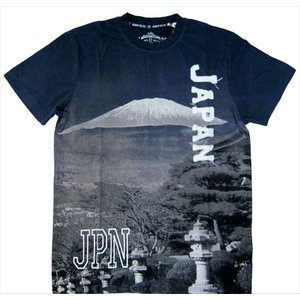 Tシャツ フォトプリント RRTM017-B-XL|robin-ruth-japan