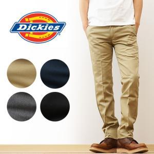 Dickies(ディッキーズ) ローライズ スマートフィットスリムワークパンツ メンズ チノパンツ スキニー テーパード ゴルフ UM3876 WD3876|robinjeansbug