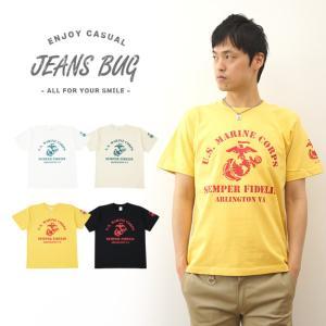 U.S.M.C. VA オリジナルマリン ミリタリープリント 半袖Tシャツ アメリカ海兵隊 米軍 Marine Corps イーグル メンズ レディース 大きいサイズ ST-VA|robinjeansbug