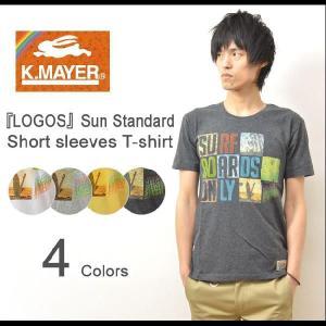 KRIFF MAYER(クリフメイヤー) LOGOS サンスタンダード 半袖 Tシャツ ロゴデザイン カットソー サーフボード サーフィン マリンスポーツ 1313419 robinjeansbug
