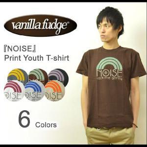 VANILLA FUDGE(ヴァニラファッジ) NOISE プリント ユースTシャツ メンズ 半袖Tシャツ レディ−ス ユースサイズ ユニセックス ノイズ 音楽 アメカジ JV-2015302|robinjeansbug
