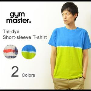 gym master(ジムマスター) タイダイ染め 半袖 Tシャツ メンズ レディース タイダイTシャツ アウトドア アメカジ ヒッピー G133345|robinjeansbug