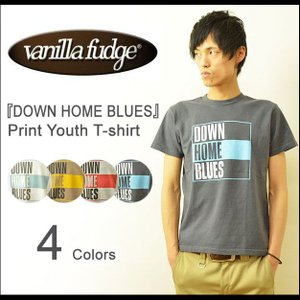 VANILLA FUDGE(ヴァニラファッジ) DOWN HOME BLUES プリント ユースサイズ 半袖Tシャツ メンズ レディ−ス ユニセックス 男女 JV-2015407|robinjeansbug