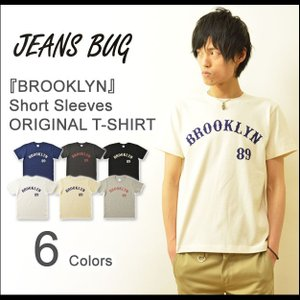 半袖 Tシャツ メンズ BROOKLYN オリジナル アメカジ プリント ブルックリン ニューヨーク スポーツ レディース 大きいサイズ 親子 おそろい ペアルック ST-BROOK|robinjeansbug