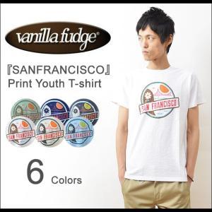 VANILLA FUDGE(ヴァニラファッジ) SANFRANCISCO プリント ユースTシャツ メンズ 半袖 レディ−ス ユースサイズ ユニセックス サンフランシスコ JV-2095408|robinjeansbug