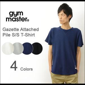 gym master ジムマスター ガゼット パイル 生地 半袖 Tシャツ メンズ レディース 無地 ロング丈 カットソー タオル スウェット スエット G533341|robinjeansbug