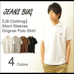 半袖 ポロシャツ メンズ JB Clothing オリジナル ロゴ ワンポイント 刺繍 ジーンズバグ 英字 シンプル アメカジ 大きいサイズ OPPL-JB robinjeansbug