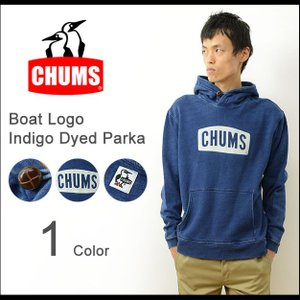 CHUMS チャムス インディゴ 染め ボート ロゴ パーカー メンズ レディース デニム ビンテージ スウェット スエット アウトドア ブランド アメカジ CH00-1097|robinjeansbug