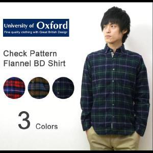 University of Oxford(ユニバーシティオブオックスフォード) フランネル素材 チェック ボタンダウンシャツ 長袖 タータンチェック ネルシャツ【0701-25014】|robinjeansbug
