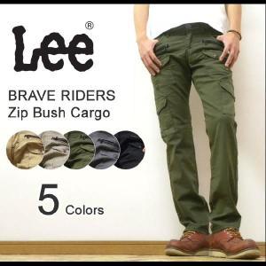 Lee(リー) BRAVE RIDERS Zip Bush Cargo ジップ&ブッシュカーゴポケットカスタム ナローパンツ ワークパンツ スキニーシルエットパンツ 【08869】|robinjeansbug