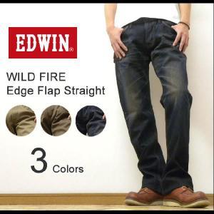 EDWIN(エドウィン) WILD FIRE EDGE FLAP STRAIGHT ワイルドファイア エッジフラップストレートジーンズ 防風透湿ストレッチパンツ ワイルドファイヤ【EGF503】 robinjeansbug