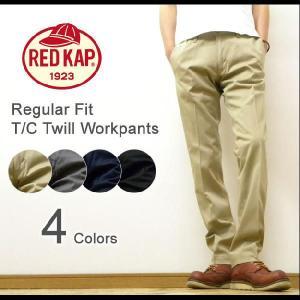 RED KAP(レッドキャップ) Regular Fit Trouser Workpants レギュラーフィット トラウザーワークパンツ チノパンツ REDKAP グローバルライン 【PT62J】|robinjeansbug