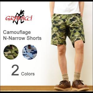 GRAMICCI グラミチ カモフラ ニューナロー ショーツ メンズ ショートパンツ 迷彩 カモフラージュ アウトドア クライミング ハーフパンツ フェス 登山 GMP-16S003|robinjeansbug