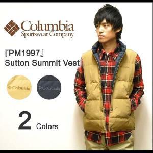 Columbia(コロンビア) Sutton Summit Vest サットンサミットベスト アウトドアダウンベスト マウンテンベスト 【PM1997】|robinjeansbug