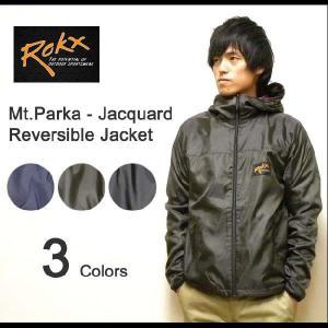 ROKX(ロックス) マウンテンパーカー-ジャガードフリース リバーシブルジャケット フード付き ネイティブ柄フリース ウインドブレークジャケット 【10025298】|robinjeansbug