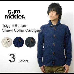 gym master(ジムマスター) トグルボタン ショールカラー スウェット地カーディガン ウールブレンド壺車スウェットジャケット 【G733571】|robinjeansbug