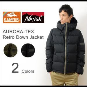 KRIFF MAYER × NANGA クリフメイヤー ナンガ レトロ ジップ ダウン ジャケット メンズ アウター 防水 透湿 防寒 大人 Made in JAPAN 日本製 国産 1529900A|robinjeansbug