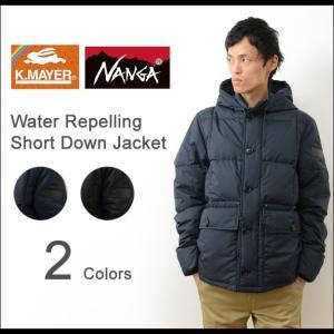 KRIFF MAYER × NANGA クリフメイヤー ナンガ フード付き ショート ダウン ジャケット メンズ アウター 撥水 防寒 大人 Made in JAPAN 日本製 国産 1629902|robinjeansbug
