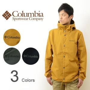 Columbia コロンビア モリソンロック ジャケット キャンバス 素材 フード コーチジャケット メンズ レディース アウター マウンテン パーカー アウトドア PM3398|robinjeansbug