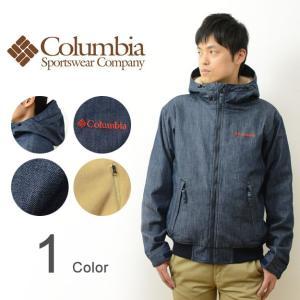 Columbia コロンビア ロマビスタ デニム フーディー 裏地 フリース 中綿 ジャケット メンズ アウター マウンテン パーカー アウトドア 防寒 通勤 通学 PM3409|robinjeansbug