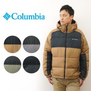 Columbia コロンビア パイク レイク フーデッド ジャケット 中綿 ダウンジャケット メンズ...