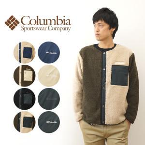 Columbia コロンビア シアトル マウンテン ジャケット ボア フリース × ストレッチ シェル リバーシブル ノーカラー アウター メンズ レディース PM0296|robinjeansbug