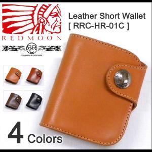 REDMOON/RRC Leather Short Wallet [RRC-HR-01C] レッドムーン/ダブルアールシー コンチョ付き二つ折り本革財布 サイフ ウォレット|robinjeansbug