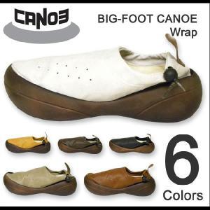 BIG-FOOT CANOE(ビッグフットカヌー) Wrap ビッグフットラップ PU合成皮革シューズ 【C-300】【C300】|robinjeansbug