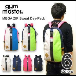 gym master(ジムマスター) メガジップ スウェット地 デイパック リュックサック バックパック アウトドア デカジップ デイバッグ ディパック 【G239561】|robinjeansbug