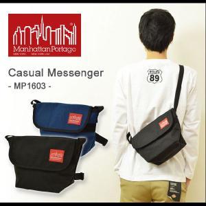 Manhattan Portage(マンハッタンポーテージ) Casual Messenger カジュアルメッセンジャー ショルダー メッセンジャーバッグ 正規品 メンズ レディース MP1603|robinjeansbug