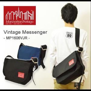 Manhattan Portage(マンハッタンポーテージ) Vintage Messenger ビンテージメッセンジャー ヴィンテージ メッセンジャーバッグ 正規品 メンズ MP1606VJR|robinjeansbug