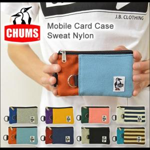 CHUMS(チャムス) モバイル カードケース スマホ 小物入れ スマートフォン 携帯電話 アイフォン iphone5 5s スイカ 定期券 CH60-0790|robinjeansbug