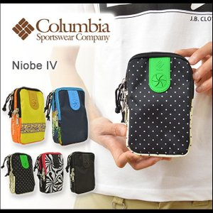 Columbia(コロンビア) Niobe IV 小物ポーチ ホルダー 携帯 スマホ スマートフォン アイフォン iphone5 5s 6 ケース イヤホン コードホール ナイオビ PU7892|robinjeansbug