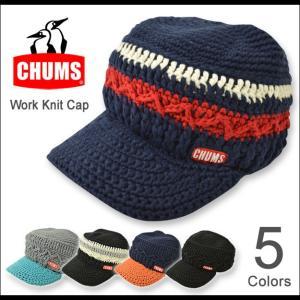 CHUMS(チャムス) ワーク ニットキャップ Work Knit Cap ワークキャップ ボーダー ユニセックス 帽子 メンズ レディース アウトドア 小物 CH05-0547 CH05-0521|robinjeansbug
