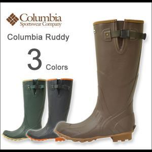 Columbia(コロンビア) ラディ レインブーツ メンズ ロング ラバー ゴム 長靴 雨用 冬 靴 アウトドア フェス シンプル ラディー オシャレ アジャスター YU3647|robinjeansbug