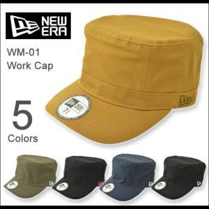 NEW ERA(ニューエラ) WM-01 ワークキャップ ミリタリーキャップ メンズ レディース 帽子 定番 ワーク ミリタリー アメカジ ストリート ロゴ 無地 11135|robinjeansbug