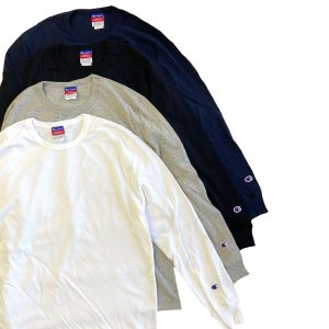 CHAMPION 7oz Heritage Jersey L/S TEE  チャンピオン ヘリテージ  長袖Tシャツ ロングスリーブ ロンT robles-store