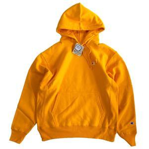 Champion LIFE Reverse Weave 12oz. Pullover Hood  C GOLD チャンピオン リバースウィーブ スウェット パーカー|robles-store