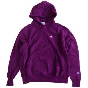 Champion LIFE Reverse Weave 12oz. Pullover Hood  VENETIAN PURPLE チャンピオン リバースウィーブ スウェット パーカー|robles-store