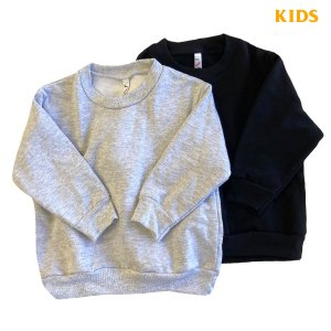 LOS ANGELES APPAREL TODDLER 14oz FLEECE CREW  SWEATSHIRT  子供用 キッズ ロサンゼルスアパレル クルーネック スウェット MADE IN USA robles-store