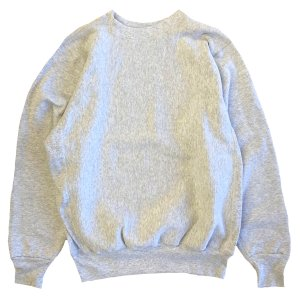 LIFEWEAR  HEAVY WEIGHT CREW NECK SWEAT ASH ライフウェア クルーネック スウェット MADE IN USA robles-store
