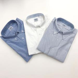 THE BAGGY  OXFORD L/S BD SHIRTS  BLUE オックスフォード ボタンダウンシャツ バギー|robles-store