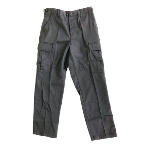 PROPPER  BDU TROUSER S/Sサイズ 60/40 COTTON/POLY TWILL button fly プロッパー  ノンリップ コットンポリ  カーゴパンツ ブラック|robles-store