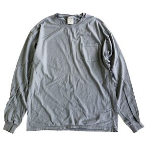 COMFORT WASH BY HANES / Ringspun Cotton Garment-Dyed TEE CONCREATE ヘインズ 後染め 長袖Tシャツ|robles-store