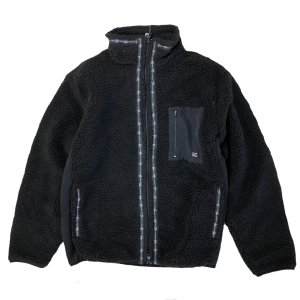 LAST CHANCE  RETROBOA FLEECE JACKET BLACK  ラストチャンス ボア フリース ジャケット|robles-store