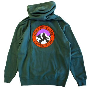 ONLY NY EXPEDITION HOODY alpine green オンリーニューヨーク  パーカー|robles-store