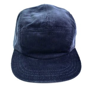 NEW YORK HAT / Corduroy 5Panel CampCap NAVY ニューヨークハット コーデュロイキャップ|robles-store