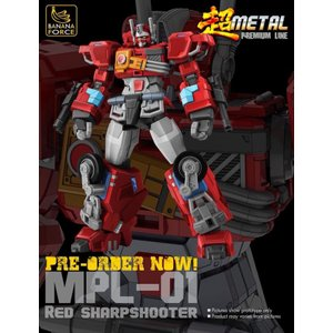 Banana Force MPL-01 Red Sharpshooter《2019/10-12 予定》
