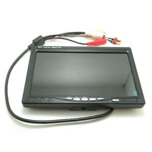 7インチFPV LCD Color 800x480 (プロポ固定部品&日除けカバー付き) robotena